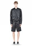 T by ALEXANDER WANG SHINY DOUBLE FACE KNIT BOMBER JACKET JACKETS AND OUTERWEAR  Adult 8_n_f