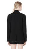 T by ALEXANDER WANG DOUBLE FACE BONDED COLLAR BLAZER JACKETS AND OUTERWEAR  Adult 8_n_a