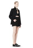 T by ALEXANDER WANG DOUBLE FACE BONDED COLLAR BLAZER JACKETS AND OUTERWEAR  Adult 8_n_e