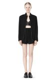 T by ALEXANDER WANG DOUBLE FACE BONDED COLLAR BLAZER JACKETS AND OUTERWEAR  Adult 8_n_f