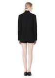 T by ALEXANDER WANG DOUBLE FACE BONDED COLLAR BLAZER JACKETS AND OUTERWEAR  Adult 8_n_r