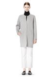 T by ALEXANDER WANG COTTON NEOPRENE OVERSIZED COAT JACKETS AND OUTERWEAR  Adult 8_n_f