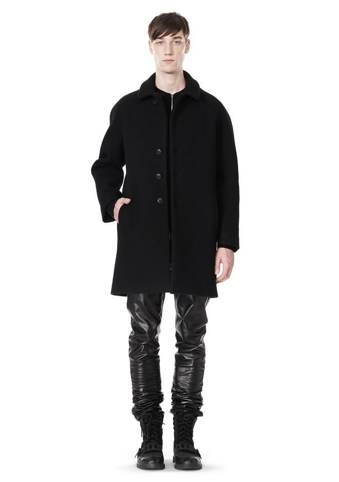 ALEXANDER WANG RAGLAN SLEEVE CARCOAT JACKETS AND OUTERWEAR  Adult 12_n_e