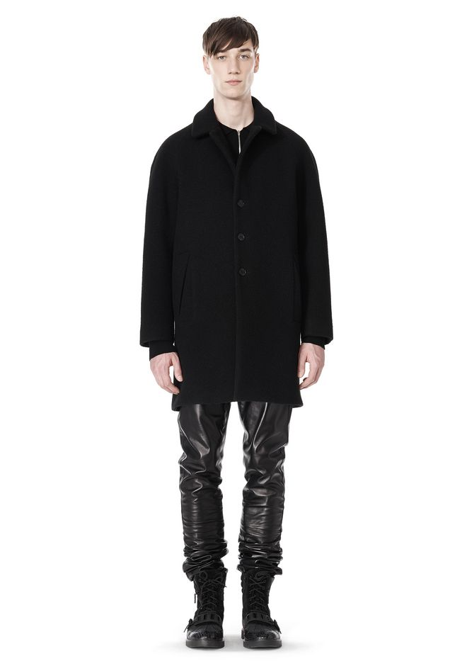ALEXANDER WANG RAGLAN SLEEVE CARCOAT JACKETS AND OUTERWEAR  Adult 12_n_f