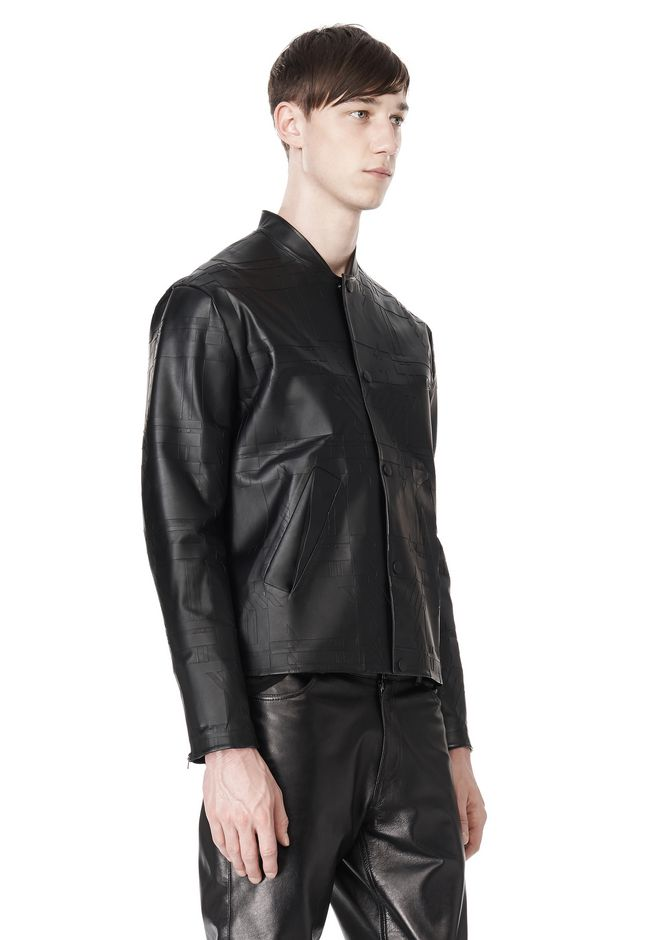 ALEXANDER WANG LASER CUT BONDED BOMBER JACKETS AND OUTERWEAR  Adult 12_n_a