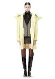 ALEXANDER WANG WELDED OVERSIZED PARKA WITH CONNECTED BLAZER PARKA Adult 8_n_r