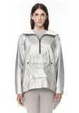 T by ALEXANDER WANG LAMINATED HOODED ANORAK JACKETS AND OUTERWEAR  Adult 8_n_e