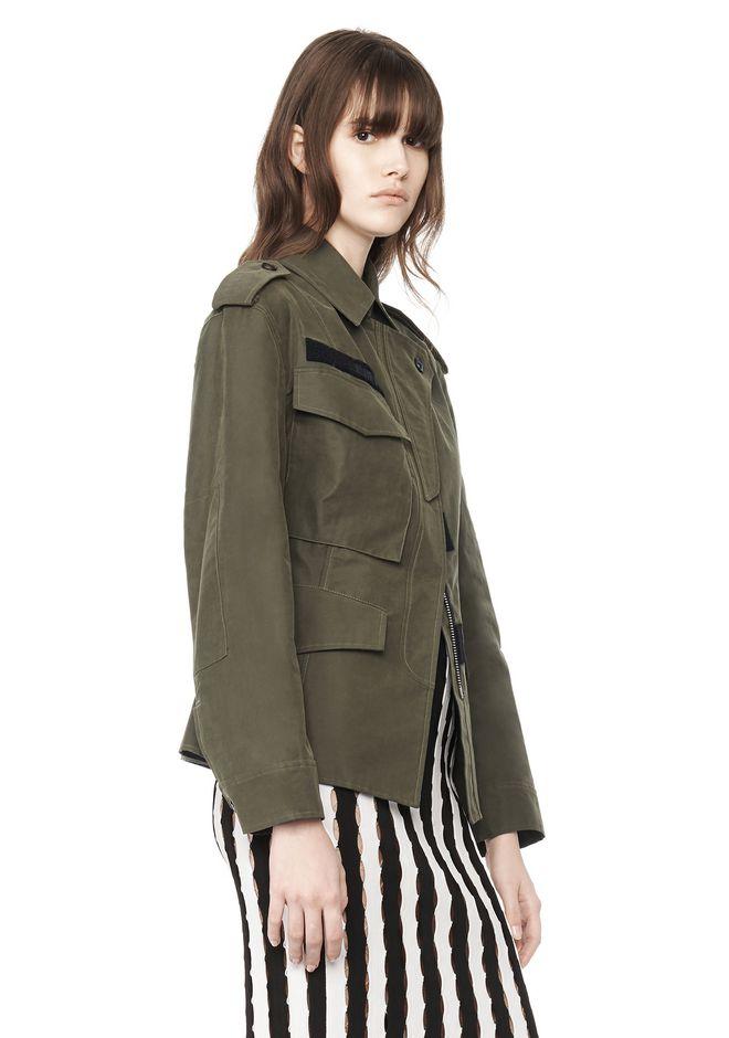 Alexander Wang Exclusive Cutaway Surplus Jacket