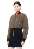 T by ALEXANDER WANG CROPPED PUFFER BOMBER JACKETS AND OUTERWEAR  Adult 8_n_a