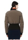 T by ALEXANDER WANG CROPPED PUFFER BOMBER JACKETS AND OUTERWEAR  Adult 8_n_d