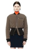 T by ALEXANDER WANG CROPPED PUFFER BOMBER JACKETS AND OUTERWEAR  Adult 8_n_e