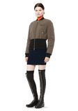 T by ALEXANDER WANG CROPPED PUFFER BOMBER JACKETS AND OUTERWEAR  Adult 8_n_f