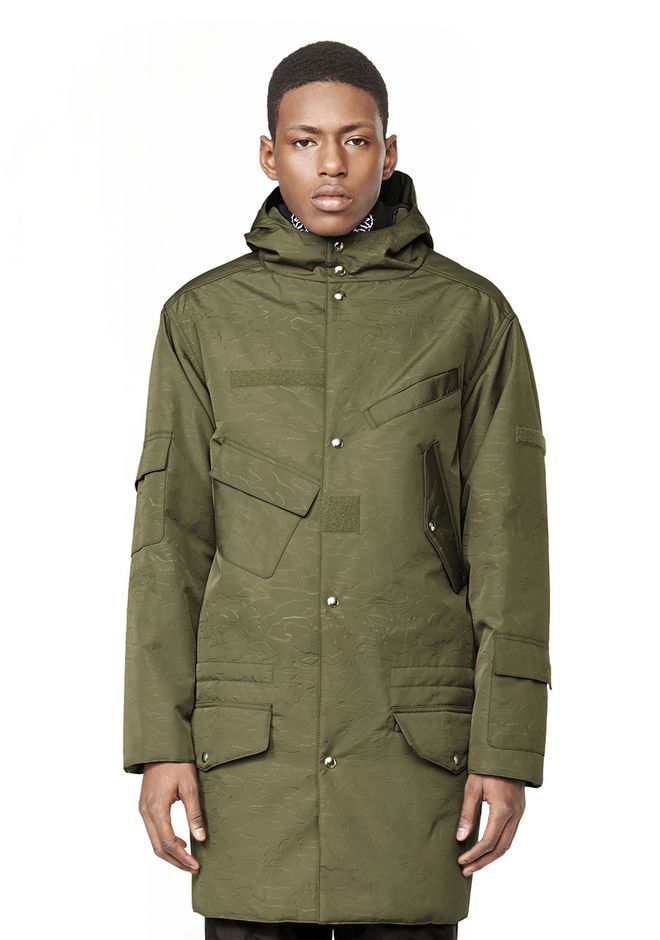 Alexander Wang HOODED MILITARY PARKA JACKETS AND OUTERWEAR ...