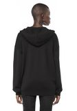 ALEXANDER WANG ZIP HOODIE WITH SEAMLESS POCKET JACKETS AND OUTERWEAR  Adult 8_n_d