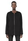 ALEXANDER WANG ZIP HOODIE WITH SEAMLESS POCKET JACKETS AND OUTERWEAR  Adult 8_n_e