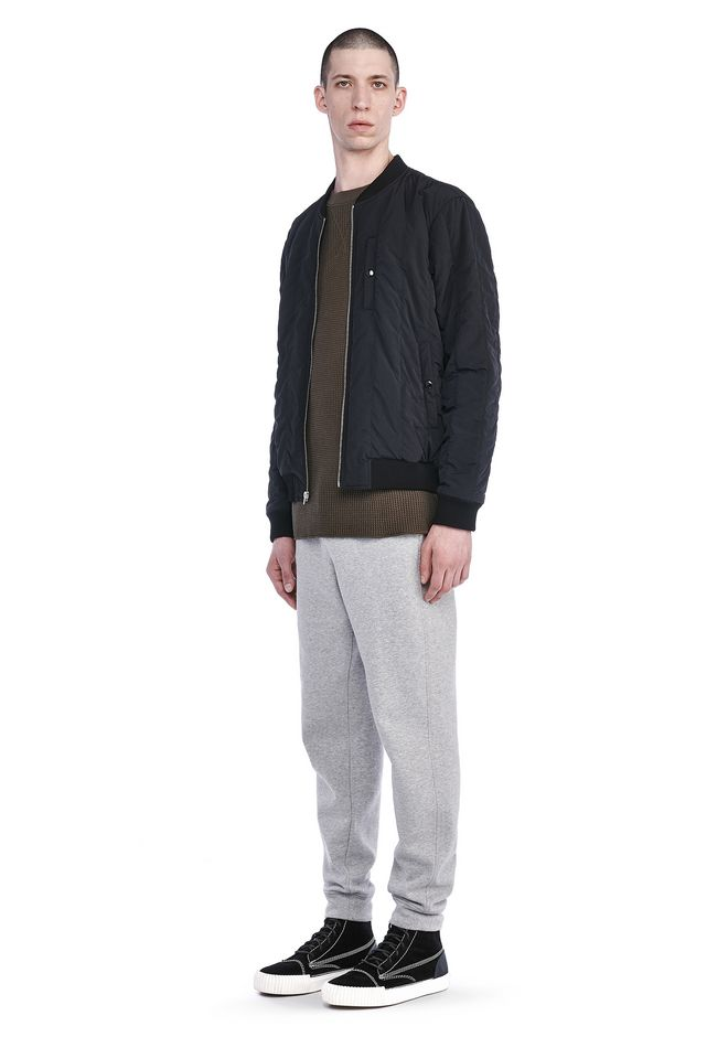 Alexander Wang Nylon Quilted Bomber Bomber Official Site