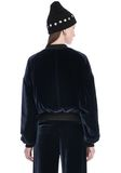 T by ALEXANDER WANG SILK VELVET BOMBER JACKETS AND OUTERWEAR  Adult 8_n_d