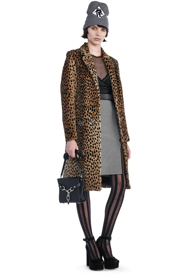 Cheetah Print Coat by Alexander Wang