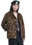 ALEXANDER WANG LEOPARD PRINT COACHES JACKET JACKETS AND OUTERWEAR  Adult 8_n_a