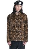 ALEXANDER WANG LEOPARD PRINT COACHES JACKET JACKETS AND OUTERWEAR  Adult 8_n_e