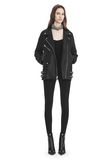 ALEXANDER WANG CLASSIC BIKER JACKET  JACKETS AND OUTERWEAR  Adult 8_n_f