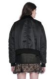 ALEXANDER WANG HYBRID MOTO BOMBER JACKET  JACKETS AND OUTERWEAR  Adult 8_n_d