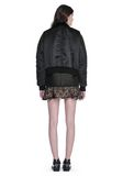 ALEXANDER WANG HYBRID MOTO BOMBER JACKET  JACKETS AND OUTERWEAR  Adult 8_n_r