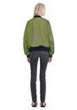 ALEXANDER WANG NEON BOMBER JACKET WITH MESH OVERLAY JACKETS AND OUTERWEAR  Adult 8_n_r