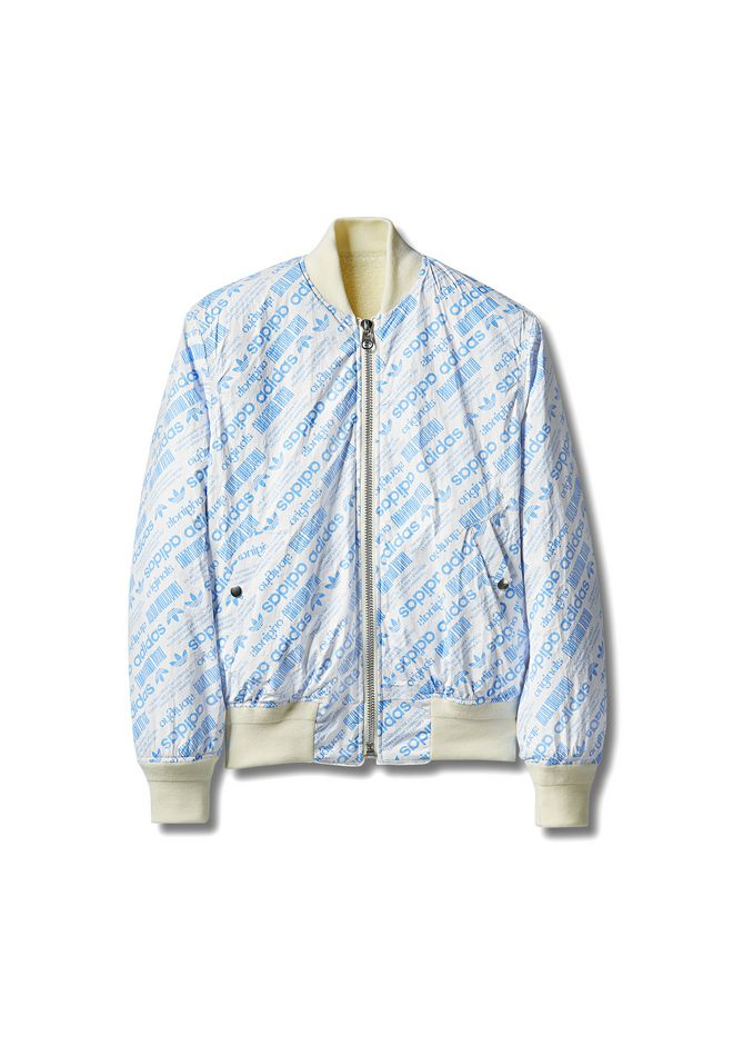 ALEXANDER WANG ADIDAS ORIGINALS BY AW REVERSIBLE BOMBER VESTES ET VÊTEMENTS OUTDOOR Adult 12_n_f