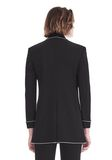 ALEXANDER WANG TUXEDO BLAZER WITH BALL CHAIN TRIM JACKETS AND OUTERWEAR  Adult 8_n_d