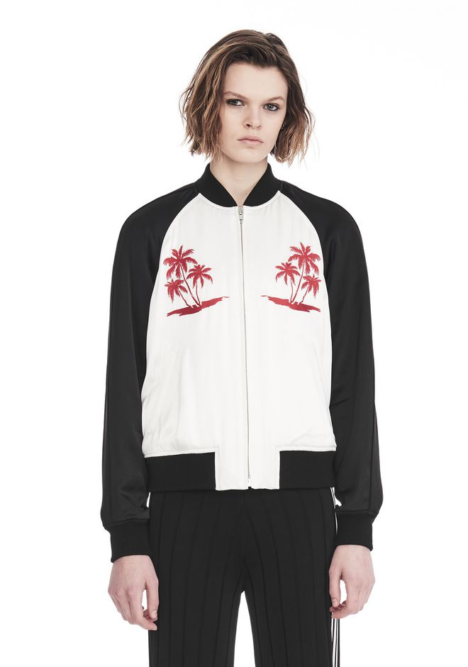 ALEXANDER WANG EXCLUSIVE SOUVENIR JACKET WITH EMBROIDERY 재킷 & 아우터웨어  Adult 12_n_e