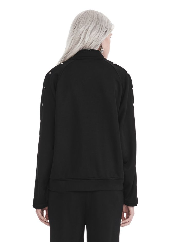 T by ALEXANDER WANG TRACK JACKET WTIH SNAPS 夹克及外套 Adult 12_n_d