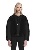 T by ALEXANDER WANG TWILL BOMBER WITH SHEARLING 夹克及外套 Adult 8_n_e