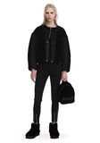 T by ALEXANDER WANG TWILL BOMBER WITH SHEARLING 夹克及外套 Adult 8_n_f