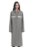 ALEXANDER WANG CHECKERED CAR COAT  JACKEN & OUTERWEAR  Adult 8_n_e