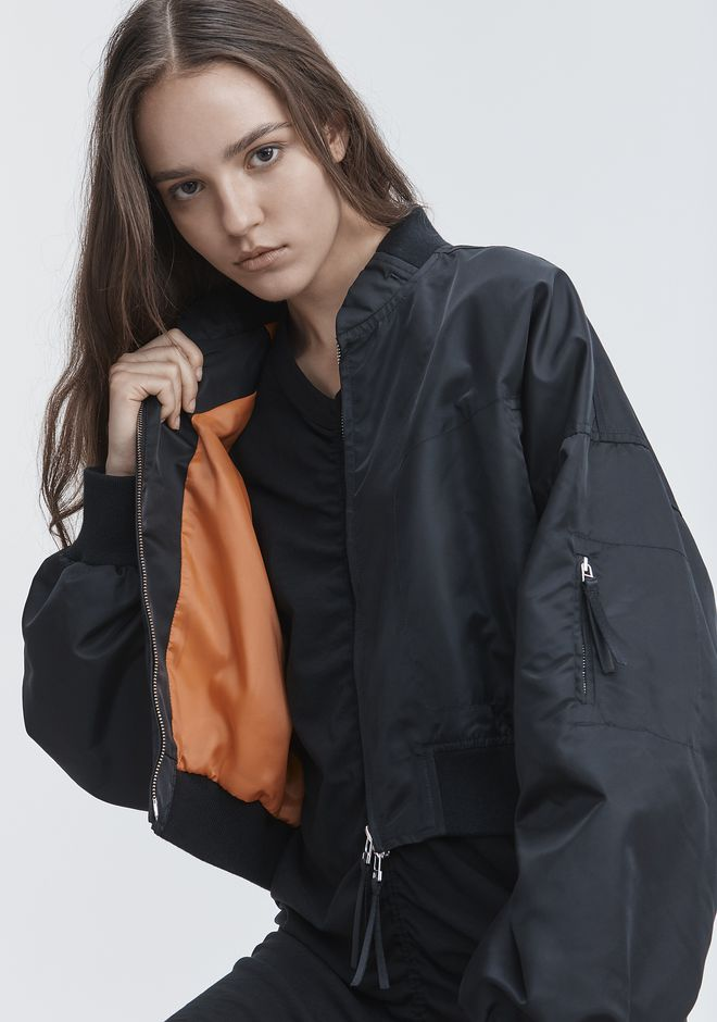 T by ALEXANDER WANG VESTES ET VÊTEMENTS OUTDOOR NYLON TWILL JACKET