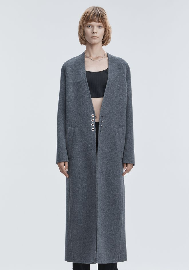 ALEXANDER WANG CARDIGAN COAT JACKETS AND OUTERWEAR  Adult 12_n_d