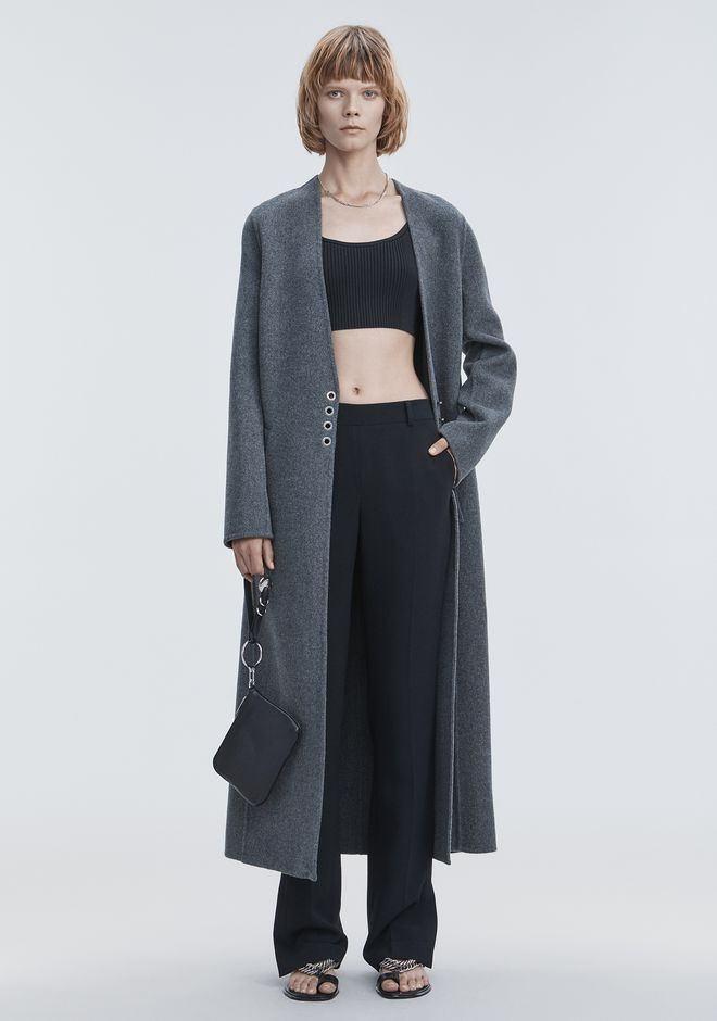 ALEXANDER WANG CARDIGAN COAT JACKETS AND OUTERWEAR  Adult 12_n_f