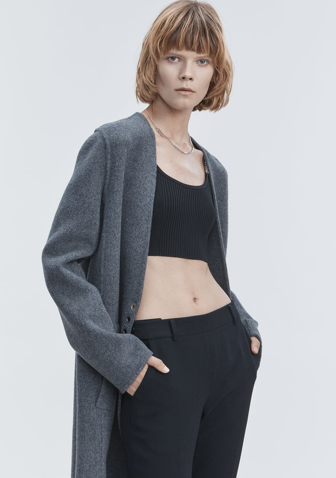 ALEXANDER WANG CARDIGAN COAT JACKEN & OUTERWEAR  Adult 12_n_r