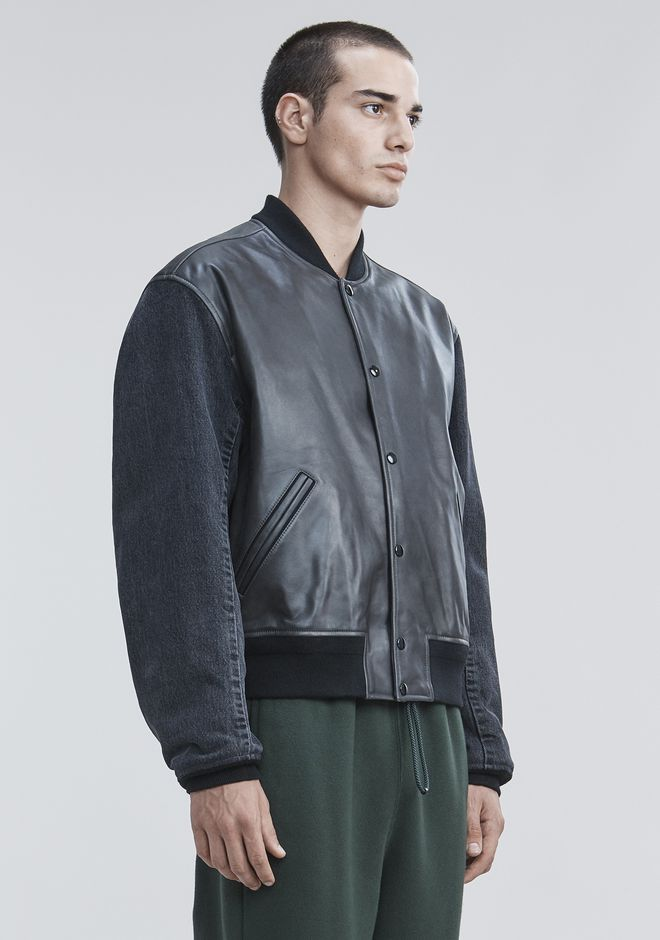 ALEXANDER WANG VARSITY BOMBER JACKET  JACKETS AND OUTERWEAR  Adult 12_n_a
