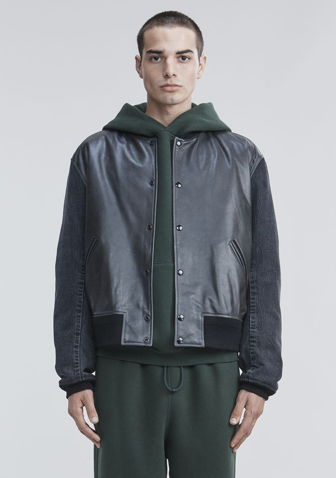 ALEXANDER WANG VARSITY BOMBER JACKET  JACKETS AND OUTERWEAR  Adult 12_n_e
