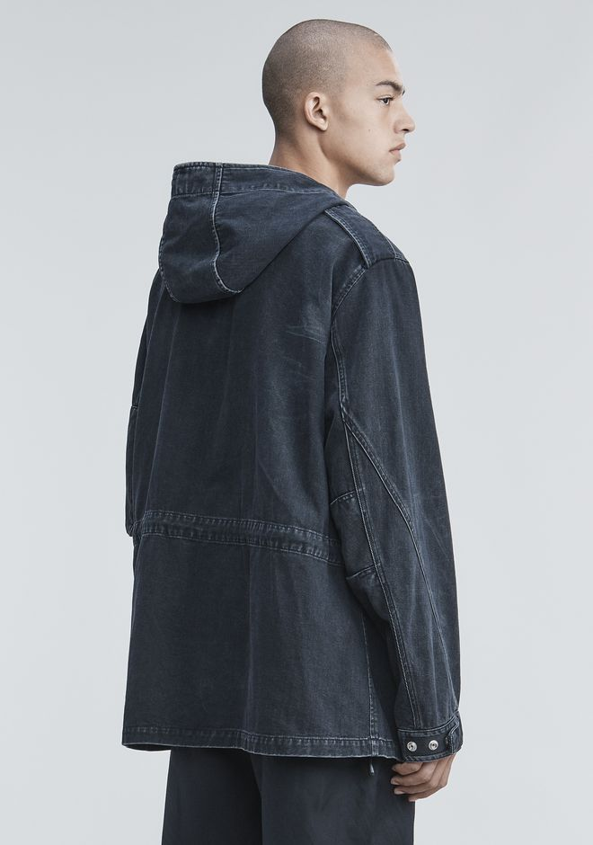 ALEXANDER WANG DENIM FIELD JACKET JACKETS AND OUTERWEAR  Adult 12_n_e