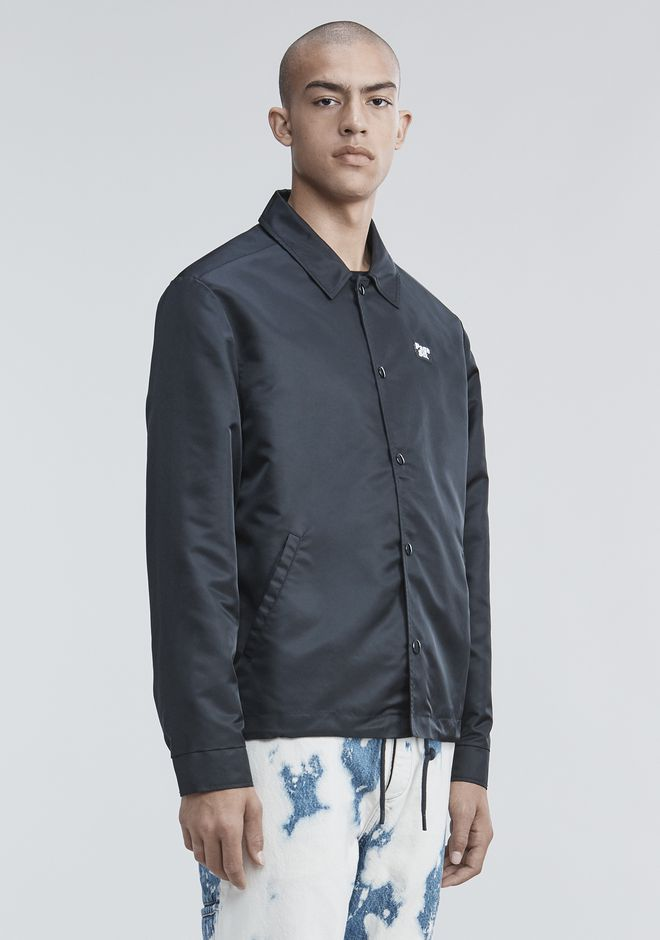 ALEXANDER WANG PAGE SIX COACH'S JACKET JACKETS AND OUTERWEAR  Adult 12_n_a