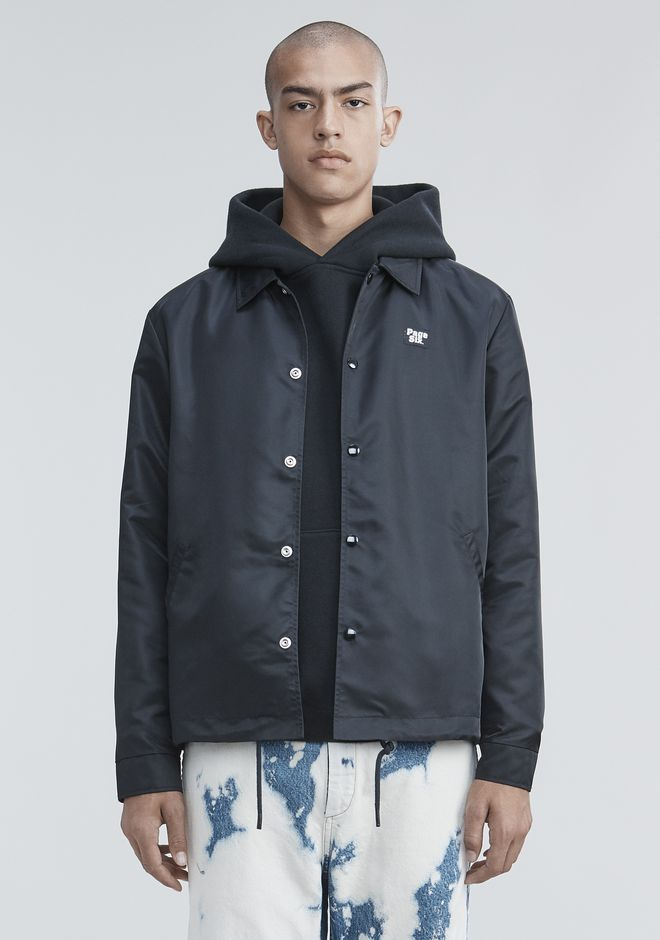 ALEXANDER WANG PAGE SIX COACH'S JACKET JACKETS AND OUTERWEAR  Adult 12_n_e