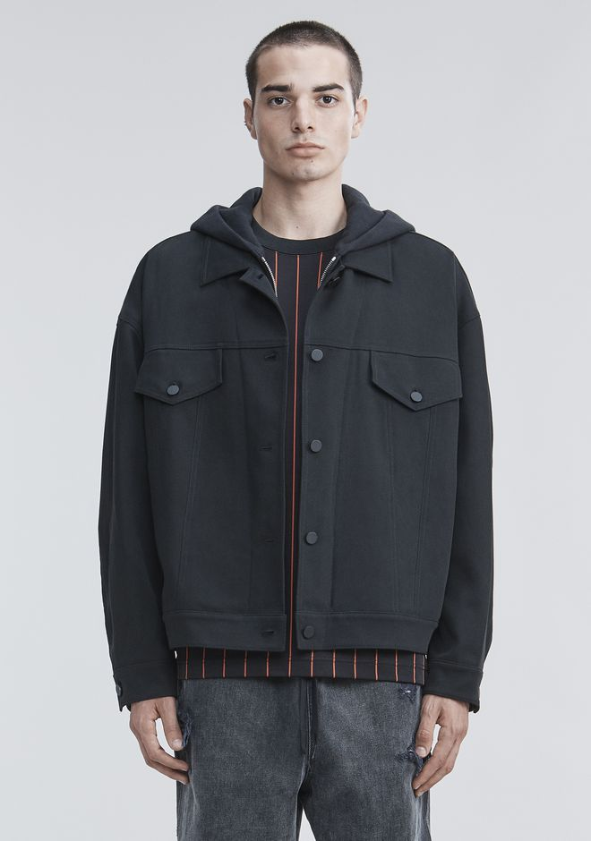 ALEXANDER WANG TRUCKER JACKET JACKETS AND OUTERWEAR  Adult 12_n_d