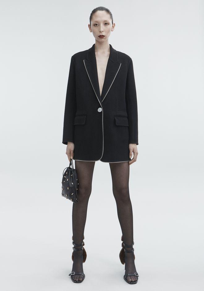 ALEXANDER WANG classic-outerwear WOOL COAT