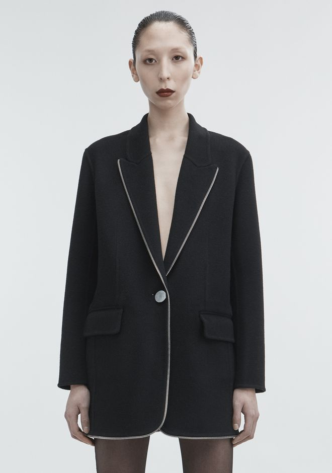 ALEXANDER WANG WOOL COAT JACKETS AND OUTERWEAR  Adult 12_n_a
