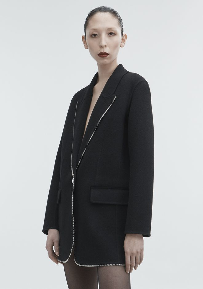 ALEXANDER WANG WOOL COAT JACKETS AND OUTERWEAR  Adult 12_n_d