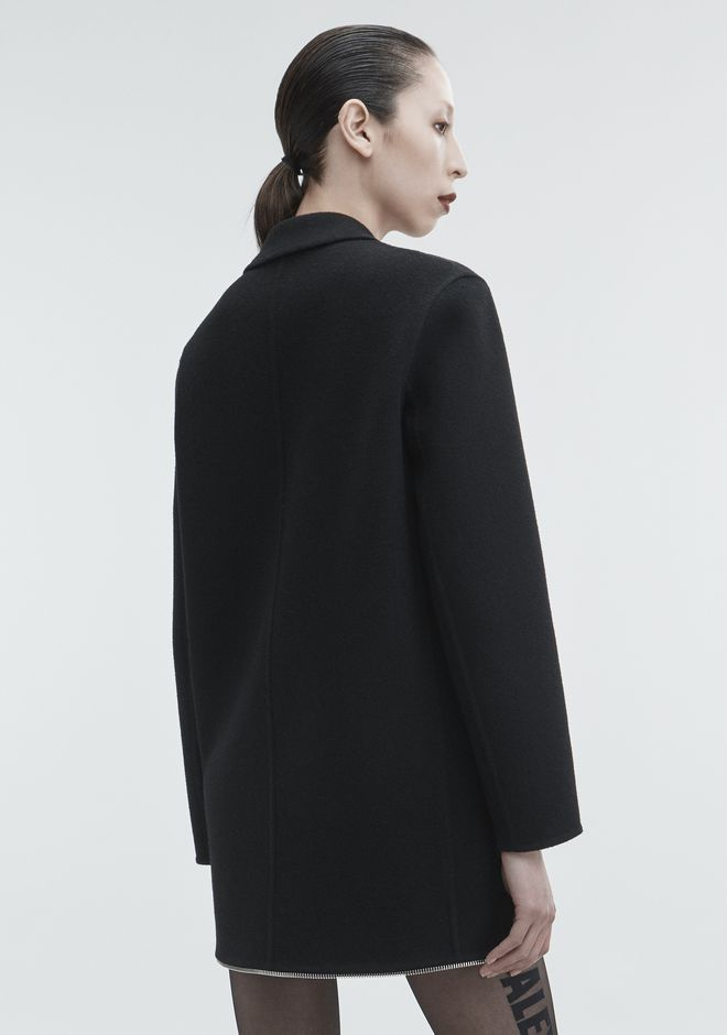 ALEXANDER WANG WOOL COAT JACKETS AND OUTERWEAR  Adult 12_n_e