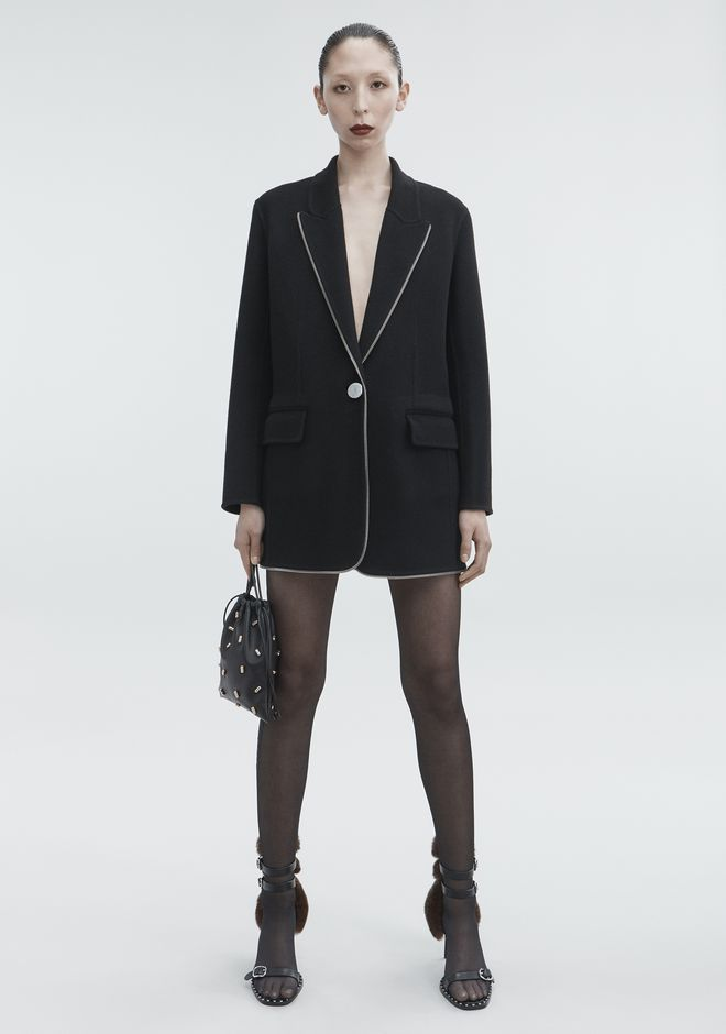 ALEXANDER WANG WOOL COAT JACKETS AND OUTERWEAR  Adult 12_n_f